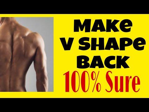 Do this for V shape back workout..