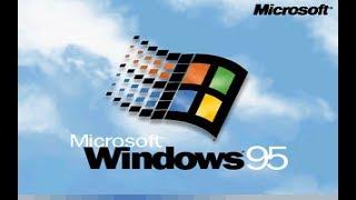Windows 95 auf einem USB Stick installieren!
