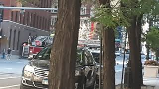 Chicago Fire Department Truck 3 Engine 42 Arrived On Scene