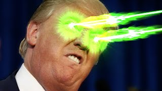 Gambar cover Bee Barfing, Laser Eyed DONALD TRUMP - SUPER FIGHT with Blitz, CTop, Negark