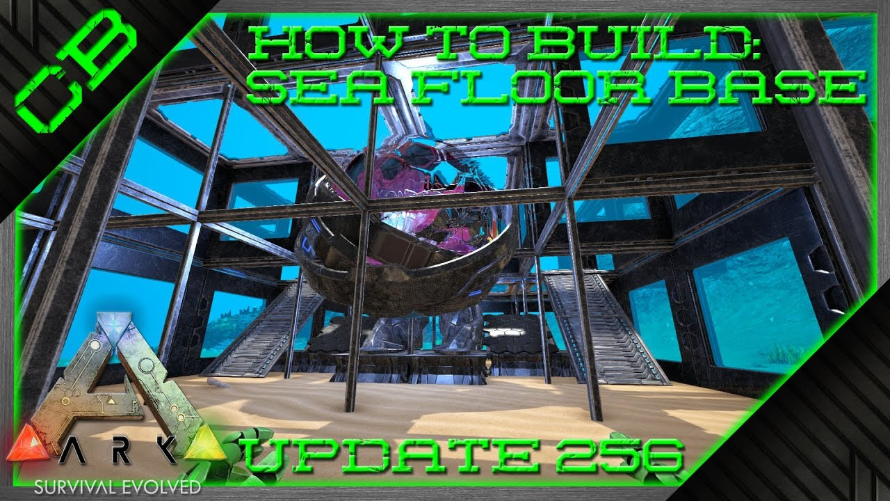 how to build underwater ark