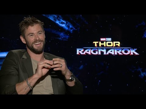 THOR RAGNAROK interviews - Hemsworth, Ruffalo, Waititi, Goldblum, Thompson