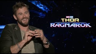 THOR RAGNAROK interviews - Hemsworth, Ruffalo, Waititi, Goldblum, Thompson