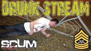 DRUNK STREAM, SLAV STYLE | SCUM Survival Gameplay