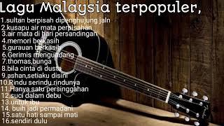 Download LAGU MALAYSIA TERPOPULER,KUSAPU AIR MATA PERPISAHAN.!!