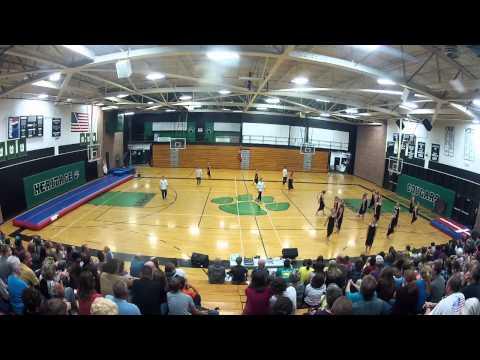 Viborg Gymteam 2014 - USA-holdet - Opvisning MHHS
