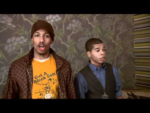 Dance Central Step It Up Contest: Nick Cannon and Aaron Fresh