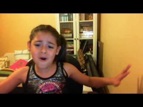 Me Singing Baby By Justin Bieber 8 Years Old,