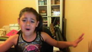 Me singing Baby by Justin Bieber 8 years old,