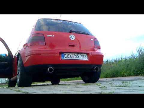 golf 4 v6 4motion mit r32 anlage youtube. Black Bedroom Furniture Sets. Home Design Ideas