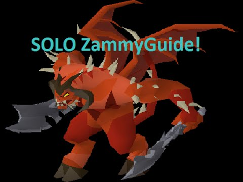 OSRS - Solo Zammy Guide for the Average PVMer!