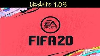 FIFA 20 | Update 1.03