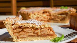 Американский яблочный пирог. Самый лучший и простой пошаговый рецепт.