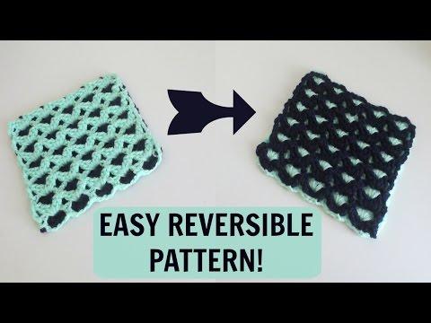 Reversible Crochet Pattern