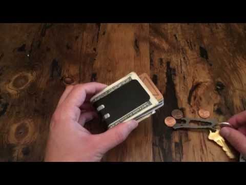 Black Diamond Finish Demonstration on T-60 Money Clip