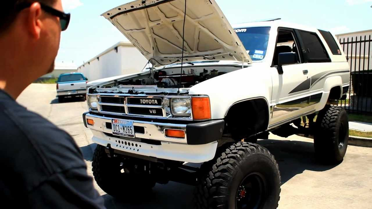 Awesome 350 Chevy Swaped 89 Toyota 4Runner