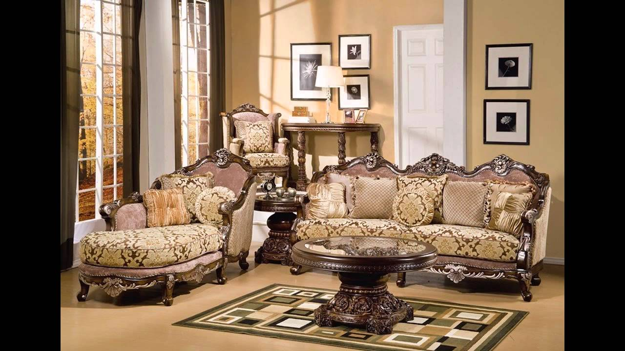 Elegant Formal living room furniture ideas - YouTube