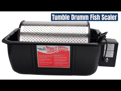 Tumble Drumm Automatic Fish Scaler By Open Country Model TD-6065-13