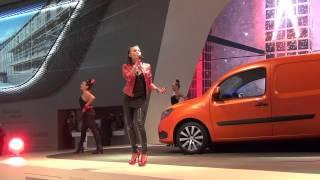 Emma Lanford Show IAA Hannover 2012 Mercedes Citan HD