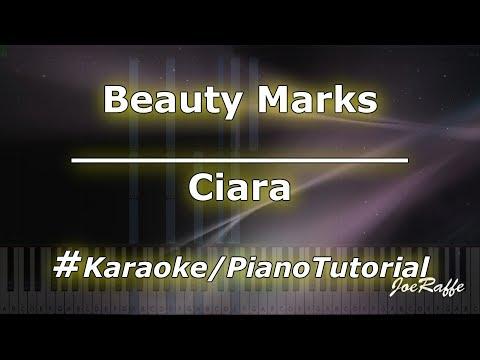 Ciara - Beauty Marks KaraokePianoTutorialInstrumental