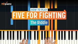 """How To Play """"The Riddle"""" by Five For Fighting 