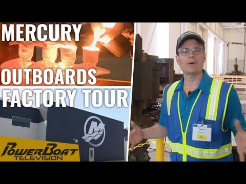 Factory Tour Of Mercury Manufacturing In Fond Du Lac, Wisconsin