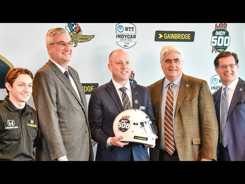 Press Conference | Gainbridge Announced as Indy 500 Presenting Sponsor