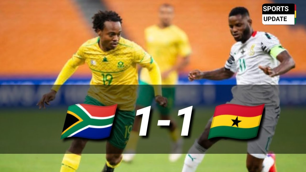 South Africa 1-1 Ghana - Highlights and All Goals - AFCON Qualifiers