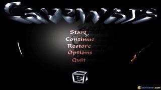 Cavewars gameplay (PC Game, 1996)