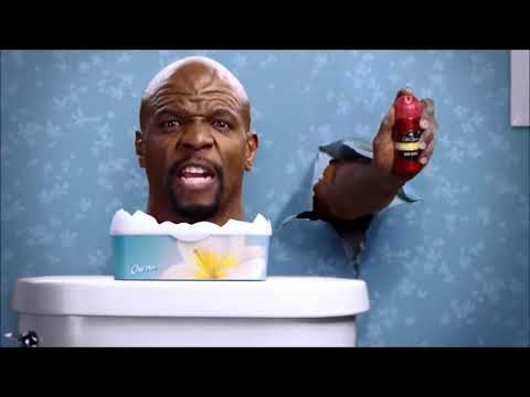Old Spice смешная реклама, с качком! Терри Крюс
