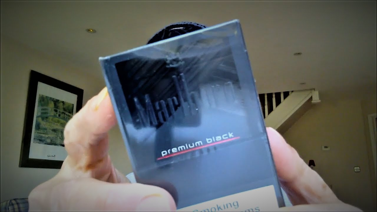 Marlboro Premium Black (Reseal Pack) Review