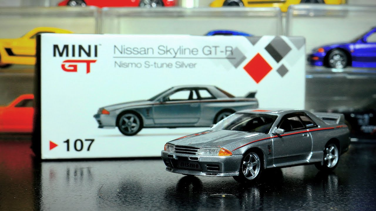 nice casting, cheap, but something ruined it. (Mini GT Nissan GTR Nismo S tune review)