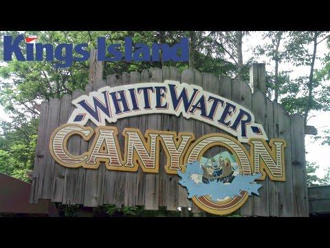 White Water Canyon Kings Island POV GoPro Hero