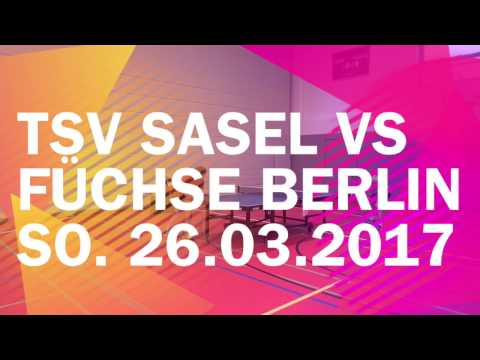 TSV Sasel vs. Füchse Berlin - So. 26.03.2017 - Regionalliga Nord 2016/2017