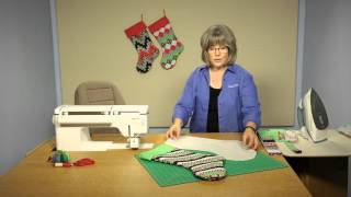 Quilting Quickly: Merry & Bright - Christmas Quilted Stockings