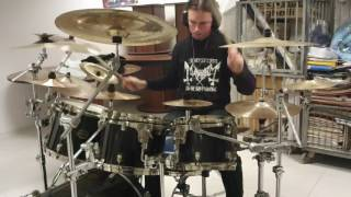 Mgla Exercises in Futility I drum cover by Bestia