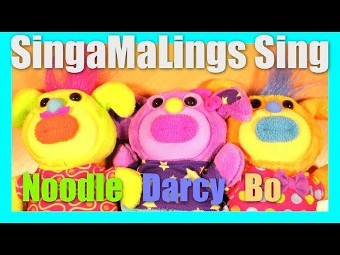 Singamalings Singing Noodle Darcy Bo Harmony Sing-a-Ma-Ling Toys