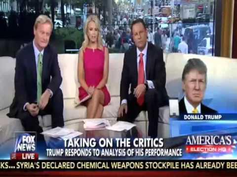 Trump Praises Drudge: Rips Fox Slob Frank Luntz