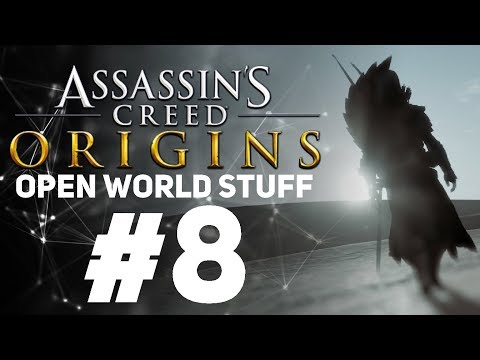 Assassin's Creed Origins [LIVE/PC] - New Game + Open World Stuff #8