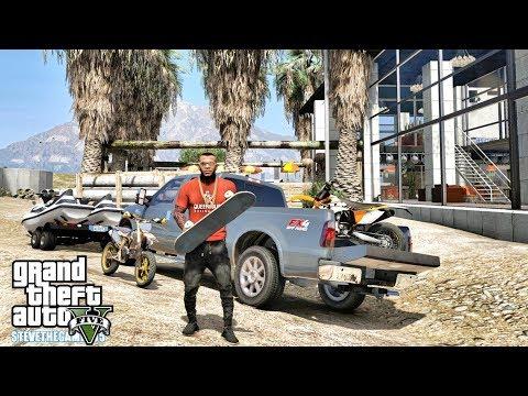 GTA 5 REAL LIFE MOD #681 - SKATE PARK!!!(GTA 5 REAL LIFE MODS)