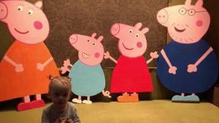 Свинка Пеппа Family Peppa Pig DIY из Пенополистирола Своими Руками фотозона Мастер класс(Нам потребуется: 1) Пенополистирол (мы испольовали Пеноплэкс 1200х600х50мм) стоимость 180 руб. лист 2) Концелярский..., 2017-02-24T21:35:08.000Z)