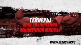 Магазин спортивного питания  «Медведь»