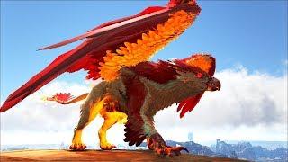 Ark Coop Map Crystal #26: Hoả thần Griffin Đẹp quá