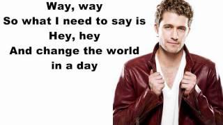 Hey Matthew Morrison Lyrics