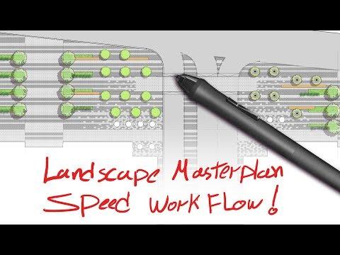 Landscape Architecture speed design, Business park