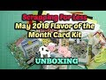 Scrapping For Less Flavor Of The Month Kit - UNBOXING   May 2018