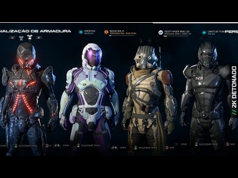 Mass Effect Andromeda - Set de Armaduras Completos