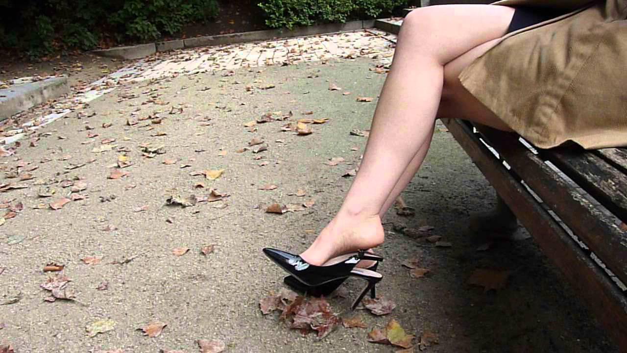 Sandals dangling