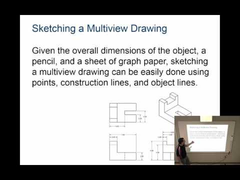 Multiview Sketching / Activity 2.3 Glass Box