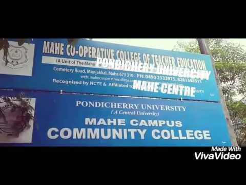 Pondichherry university mahe centre